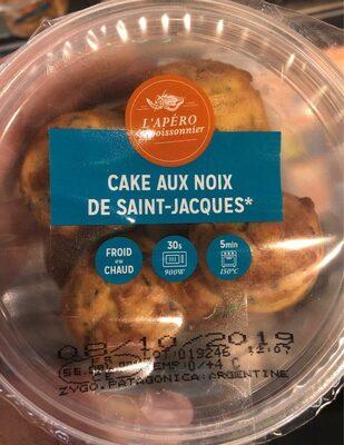 Cake aux Noix de Saint-Jacques