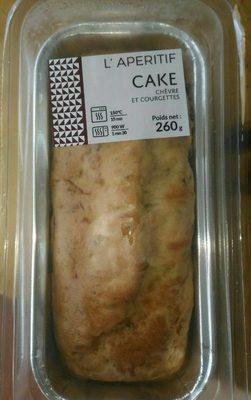 Cake chèvre et courgette