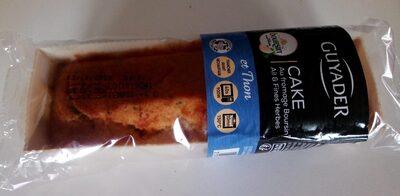 Cake au fromage Boursin  Ail et Fines Herbes