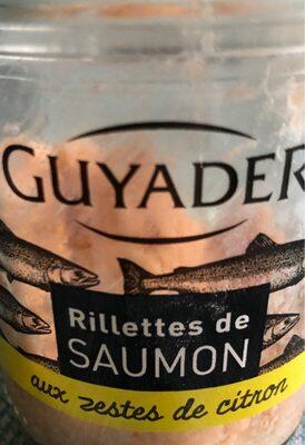 Rillettes de saumon aux zestes de citron