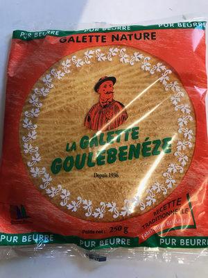 La galette Goulebenèze