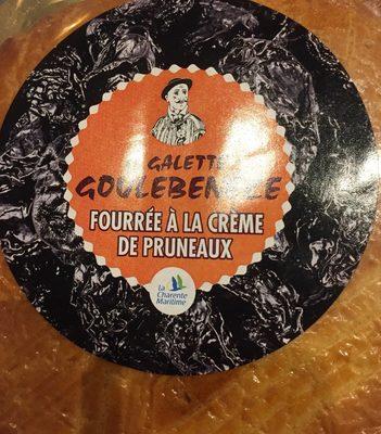 La Galette Goulebenéze Fourrée à la Crème de Pruneaux