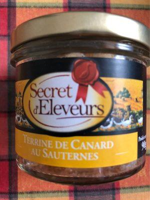 Terrine de canard au Sauternes