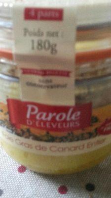 Fois gras de canard entier