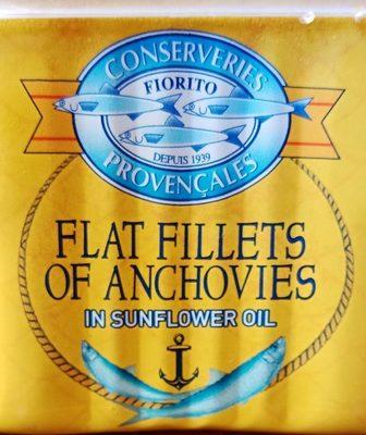 Filets d'anchois