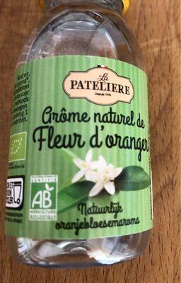 Arome naturel de fleur d'oranger