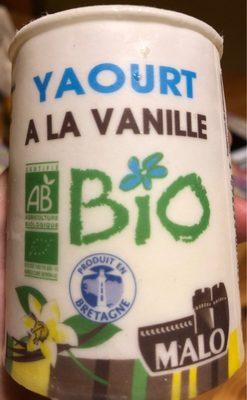 Yaourt à la vanille bio