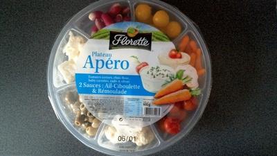 Plateau Apéro 2 sauces fines herbes & moutarde à l'ancienne