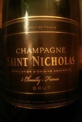 Champagne Saint Nicholas brut