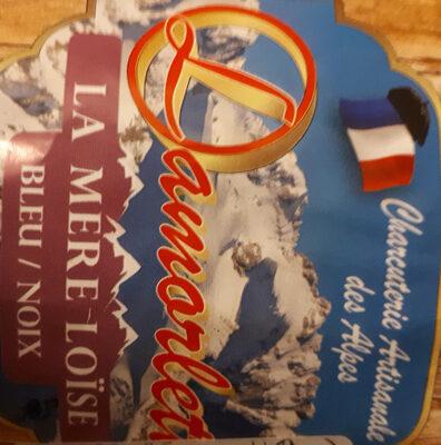 Saucisson sec des Alpes Bleu/Noix - La mère Loïse