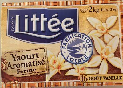 Yaourt aromatisé ferme - gout vanille