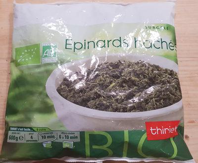 Epinards hachés biologiques