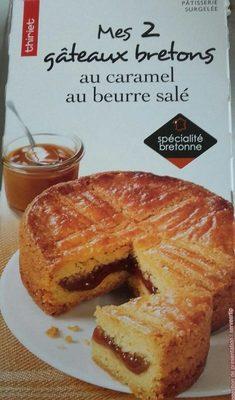 Mes 2 Gâteaux Bretons au Caramel au Beurre Salé