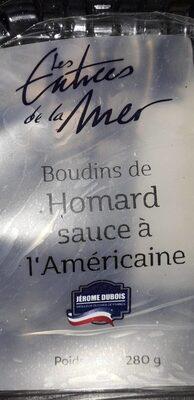 Boudins de homard sauce à l'américaine
