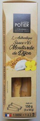 Sauce moutarde de Dijon