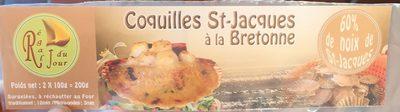 Coquille st jacques a la bretonne