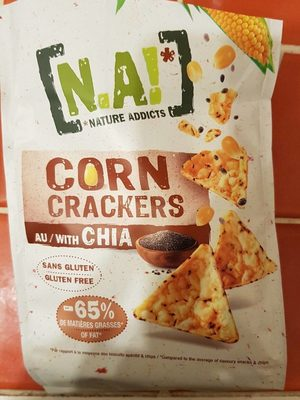 Corn Crakers au Chia