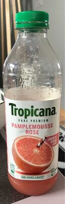Tropicana pamplemousse rose