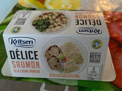 Délice Saumon à crême fraiche
