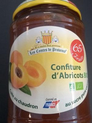 Confiture d'abricots bio