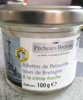 Rillettes de palourdes roses de Bretagne à la crème fraiche