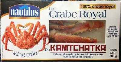 Le Crabe Royaldu Kamtchatka
