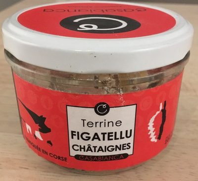 Terrine Figatellu Chataignes
