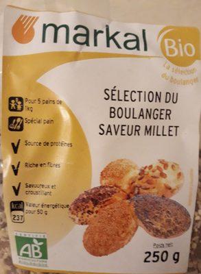Selection du boulanger Saveur Millet