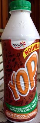Yop, Goût Choco-Caramel