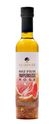 Huile d'olive aromatisée au pamplemousse de corse