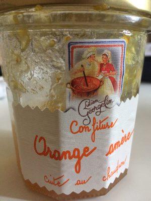 Confiture orange amere