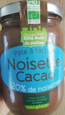 Pate à tartiner noisette cacao
