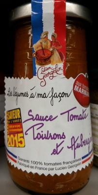 Sauce Tomate Poivrons et Aubergines