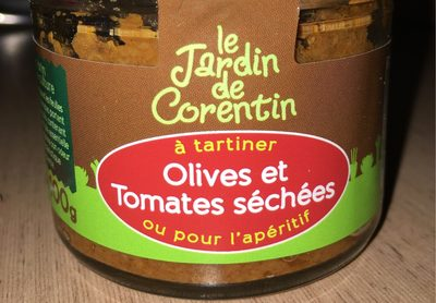 Tartinable Olive Et Tomate Séchée
