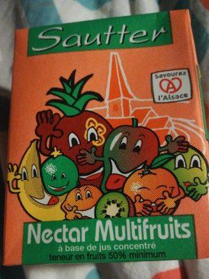 Nectar multifruits à base de jus concentré