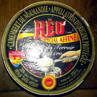 Camembert de Normandie AOP (22% MG) - 250 g - Réo Noir