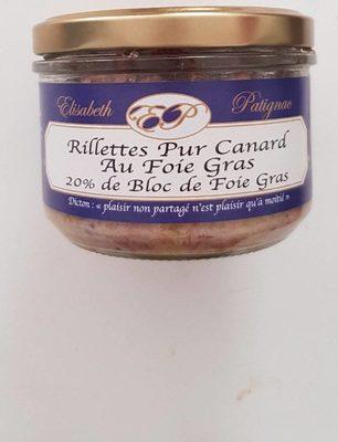 Rillettes Pur Canard au Foie Gras