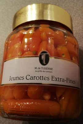 Marguerite De Turenne Jeunes Carottes (370ml Glas)
