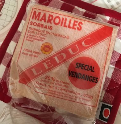 Maroilles - spécial vendanges