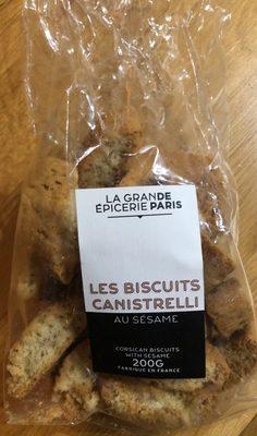 Biscuits Canistrelli