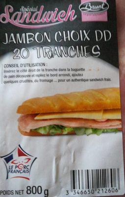 Jambon Choix DD