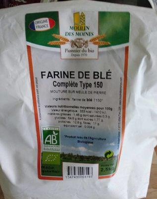 Farine de blé complète