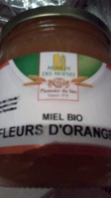 Miel Bio fleurs d'oranger
