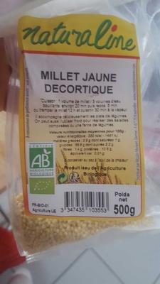 Millet jaune decortiqué