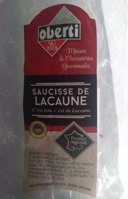 Saucisse de Lacaune