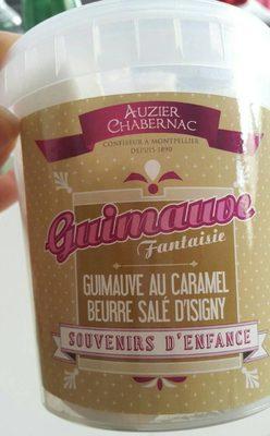Guimauve au caramel beurre salé d'isigny