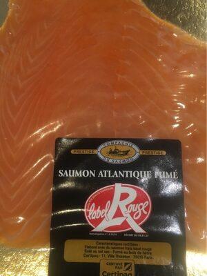 Saumon atlantique fumé