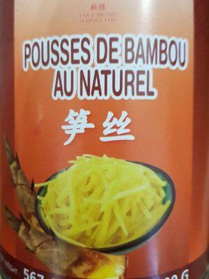 Pousses de bambou