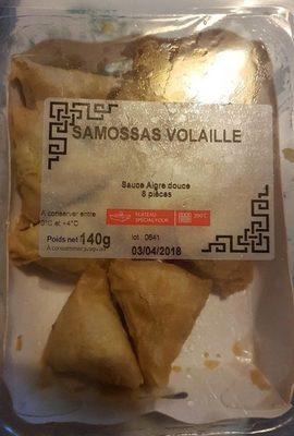 Samossas volaille