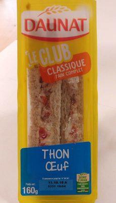 Le club classique Thon oeuf
